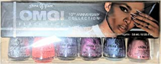 China Glaze Nail Lacquer OMG! FLASHBACK Collection Mini Kit 6pcs