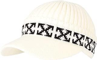WITHMOONS Winter Knit Visor Beanie Hat Baseball Watch Cap CRQ1102