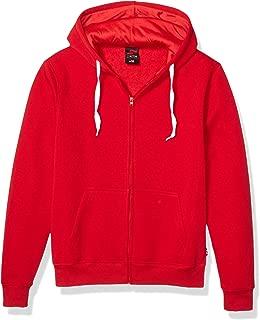 Southpole Men's Active Basic Hooded Full Zip Fleece in Premium Fabric