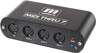 【正規輸入品】1入力7出力MIDIスルーボックス・MIDITHRU7