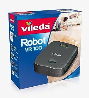 Vileda VR 100 Robot Aspirador, Antracita, 32 x 28 x 9 cm