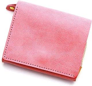 アジリティアッファ(AGILITY affa)『モワティエ』二つ折り財布 フラップ 縦 L字ファスナー コンパクト 小さい 本革 レザー