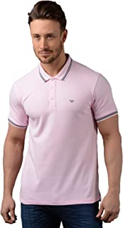 armani jeans button through polo shirt
