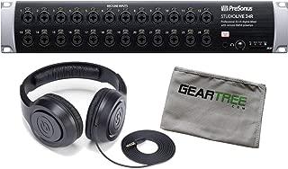 Presonus StudioLive 24R 46x26 32-channel Series III Stage Box Bundle w/Headphone