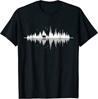 The Sound Of Nature- Sound Waves T Shirt Design