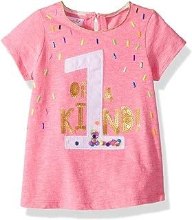 Mud Pie Womens 1st Birthday Short Sleeve T-Shirt (Infant)