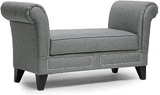 scroll arm bench