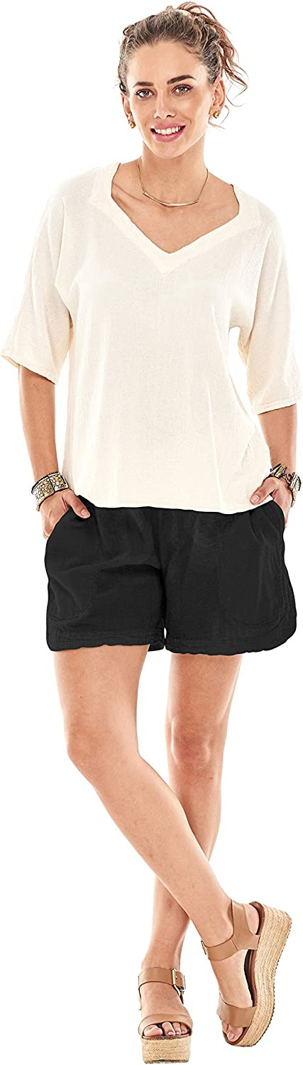 Oh My Gauze Shorty Shorts Max 49% OFF Women's Max 47% OFF