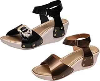 IndiWeaves Womens Casual and Formal High Heel Sandals for Women