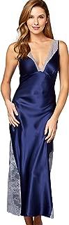 Julianna Rae Women's Allura 100% Silk Long Gown, Sleepwear, Lingerie, Beautiful Gift Packaging
