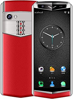 Shenzhen brand smartphone K-TOUCH M17s, 1GB+16GB, Face ID Identification, 3.46 inch Android 6.0 MTK6580 Quad Core, Network: 3G, Dual SIM, Support Google Play (Black) (Color : Red)