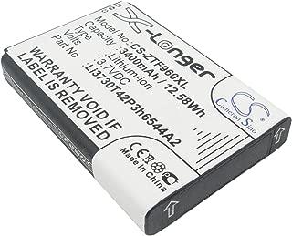 Replacement Battery for NET10 SRQ-Z289L Z289L T-Mobile MF96 Sonic 2.0 4G LTE Sonic 2.0 LTE Mobile Hotspot ZTE MF96 MF96U SRQ-Z289L Z289 Z289L Part NO T-Mobile LI3730T42P3h6544A2