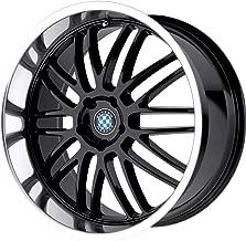 Beyern Mesh Gloss Black Wheel with Machined Lip (17x8