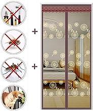 Magnetische vliegengaas, deur met full frame klittenband, handenvrij insectenwering, het magneetgordijn voor patio, schuif...