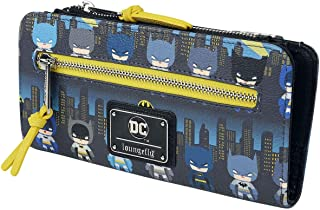 Loungefly x Batman 80th Anniversary Gotham City Chibi Wallet