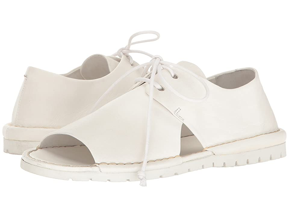 Marsell Open Toe Oxford (White) Women