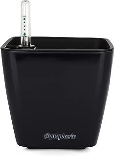 """Aquaphoric Self Watering Planter (5"""") + Fiber Soil = Foolproof Indoor Home Garden. Decorative Planter Pot for All Plants, Flowers, Herbs, African"""
