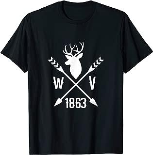 West Virginia WV 1863 West Virginian White Tail Deer T-Shirt