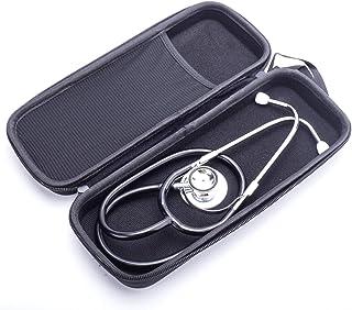 WanXingY Médico Profesional Estetoscopio Equipo médico Caja Caja de cardiología Estetoscopio médico Estetoscopio Doble Cabeza (Color : Dual Head with Bag)