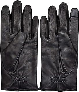 Hugo Boss mens gloves Heskar TT black