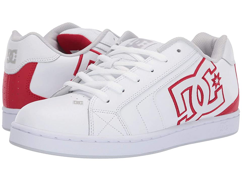 DC Net (White/Athletic Red/White) Men
