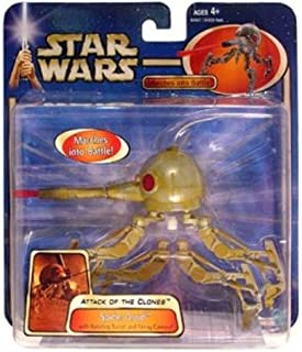Star Wars Attack of the Clones Saga 2002 Spider Droid Action Figure