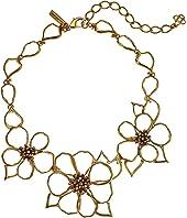 Oscar de la Renta - Flower Necklace