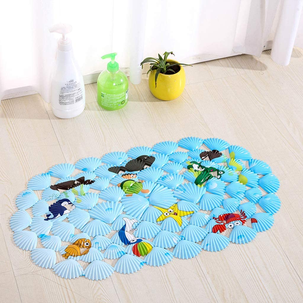 LIZHAIMING Printed Shell New item Bathroom Non-Slip shop Massage with Mat
