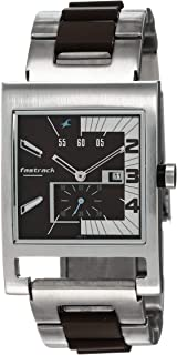 Fastrack Party Analog Brown Dial Men's Watch -NK1478SM02