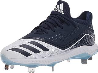 adidas Women's Icon V Bounce W Sneaker, Collegiate Navy/Glow Blue, 6 M US