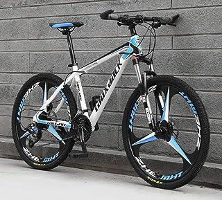JFSKD Bicicleta de montaña para Adultos 26 Pulgadas 21/24/