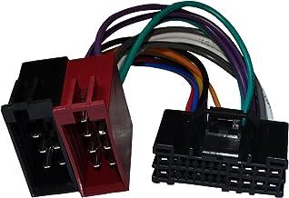 AERZETIX - Adaptador cable - Enchufe ISO - Para autoradio de coche vehículos - C12028
