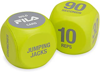 FILA Accessories Exercise Dice for Group Exercise & Fitness Classes (Set of 2)