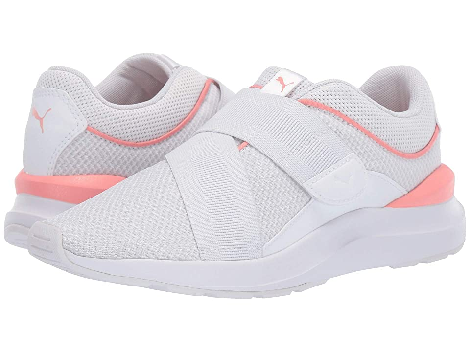 85a153cbc9b PUMA Adela X (Puma White Peach Bud) Women s Shoes