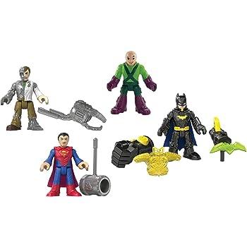 Fisher-Price Imaginext DC Super Friends DC Super Heroes /& Villains Playset