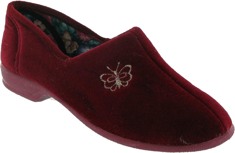 Mirak Womens Bouquet Womens Slipper Red Size UK 3 EU 36