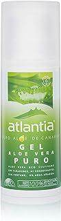 Atlantia Aloe Vera Gel de Aloe Vera orgánico puro sin aditivos ni conservantes 200ml