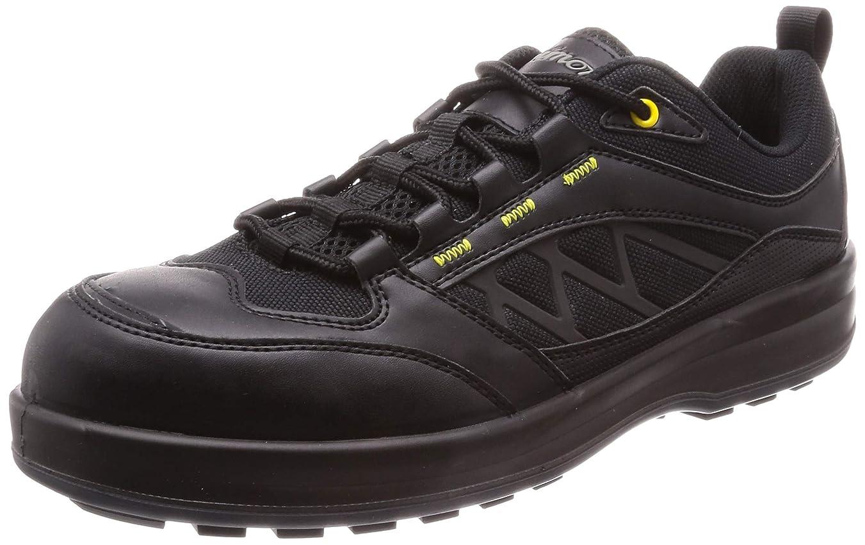好き遠近法静けさ[シモン] 作業靴 セーフティースニーカー 耐滑?高視認 プロスニーカー SL12