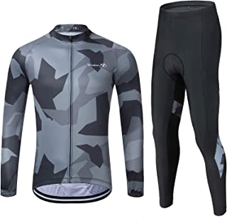Men's Cycling Jersey Set Mountain Bike Jersey MTB Jersey Road Bike Clothing Quick-Dry Outdoor Riding Sportswear