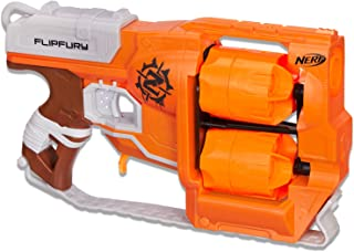 NERF Zombie Strike - Flipfury Rotating Blaster inc 12 Official Darts - Kids Toys & Outdoor Games - Ages 8+