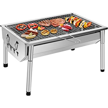 UTTORA Grill Barbecue, Portable et Pliable Barbecue de Table