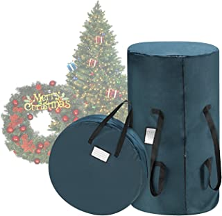 TINY TIM TOTES 83-DT5530 Premium Green Canvas Christmas 9 Foot Tree Storage 30