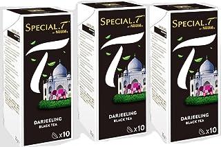 Original Special T - Darjeeling - Schwarztee - 30 Kapseln 3 Packungen für Nestlé Tee Maschinen