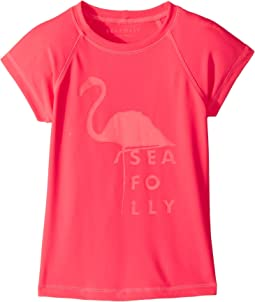 Seafolly Kids - Summer Essentials Short Sleeve Rashie (Little Kids/Big Kids)