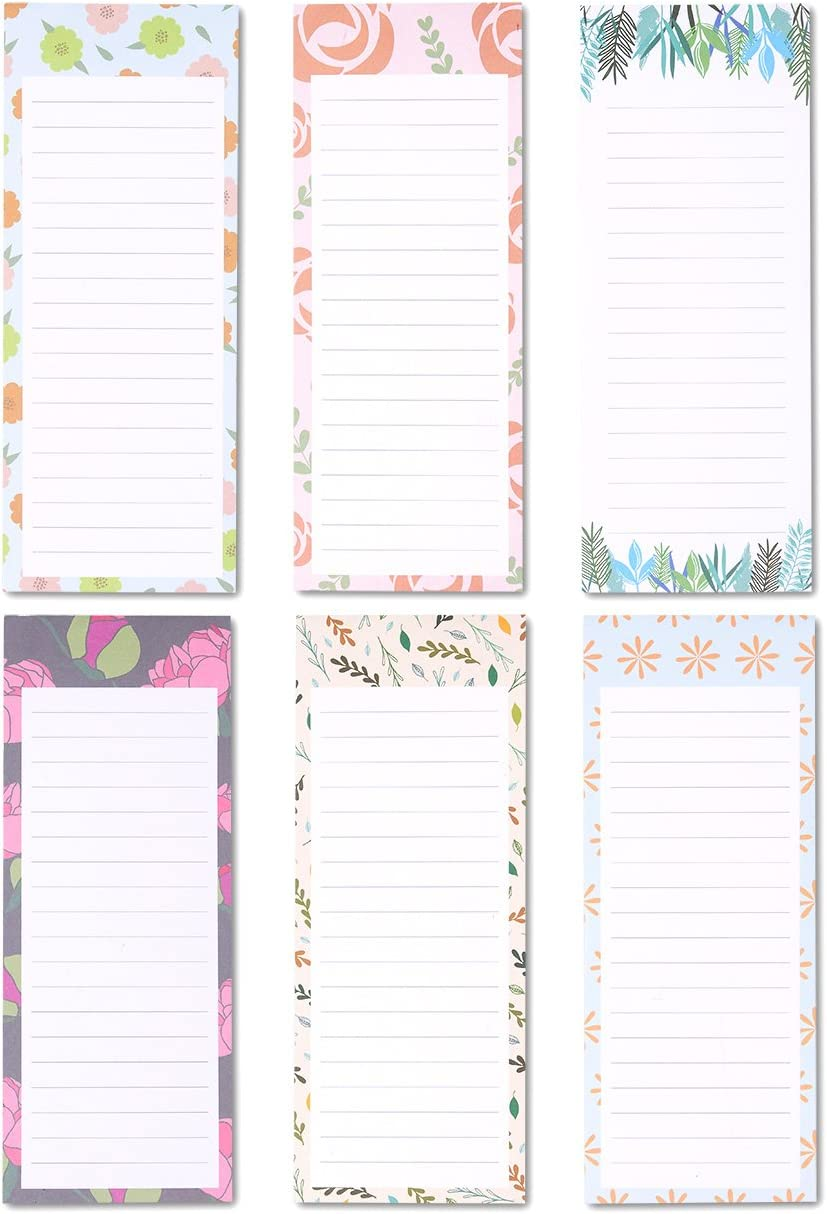 Diagonal Stripe Pattern Personalized Notepad Tall Lined To Do List Or Shopping Pad