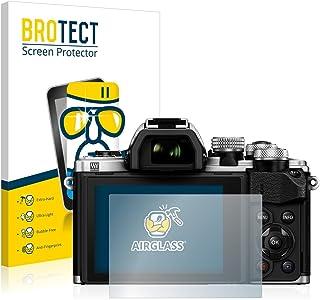 BROTECT Protector Pantalla Cristal Compatible con Olympus OM-D E-M10 Mark II Protector Pantalla Vidrio Dureza 9H AirGlass