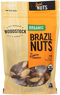 Woodstock Farms, Brazil Nuts, 8.5 oz