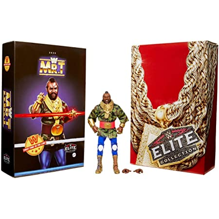 WWE Mr T Elite Collection Action Figure SDCC 2020 Convention Exclusive