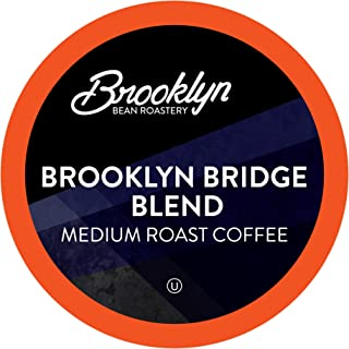 Brooklyn Beans Brooklyn Bridge Blend Coffee Pods, Compatible with 2.0 Keurig K-Cup Brewers, 40 Count