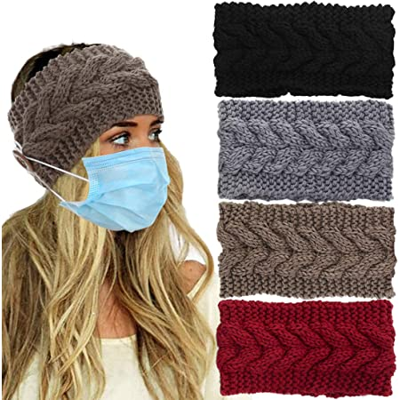 Details about  /Head Wrap Hairband Winter Knitted Headband Twist Hair Hoop Hair Accessories